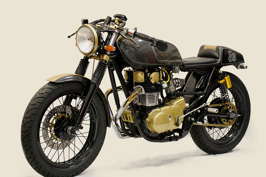 Yamaha XS650 cafe racer Yamaha XS650 Café Racer by Chappell Customs