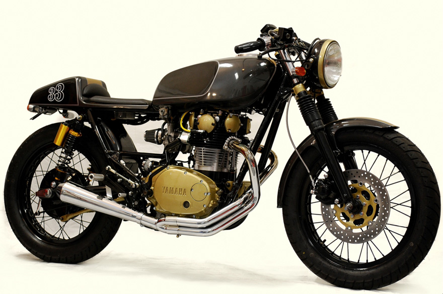 Yamaha XS650 Yamaha XS650 Café Racer by Chappell Customs