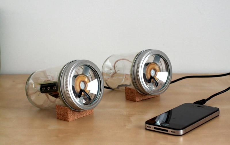 audio jar Sarah Pease Design audio jar by Sarah Pease Design