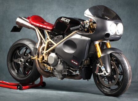 ducati cafe racer 2 450x330 - Ducati Flash Back Endurance by Mr Martini