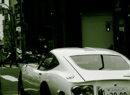 japanese monotone car 450x330 - Monotone 2000GT