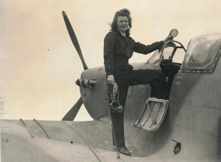 mary guthrie spitfire mkv 450x330 - Mary 'Hurricane' Guthrie
