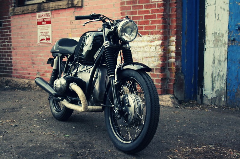 BMW R75:5 Vintage Motorcycle Cafe Racer Motorbike
