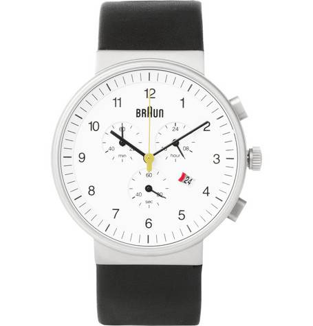 Braun Stainless Steel Chronograph watch