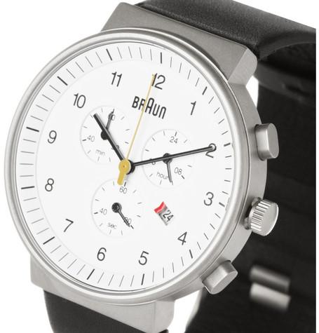 Braun Stainless Steel Chronograph
