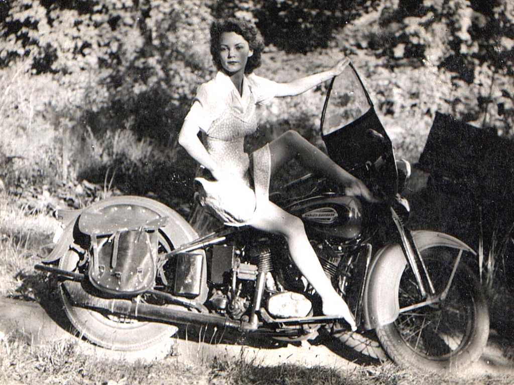 Harley Davidson Doll Silodrome