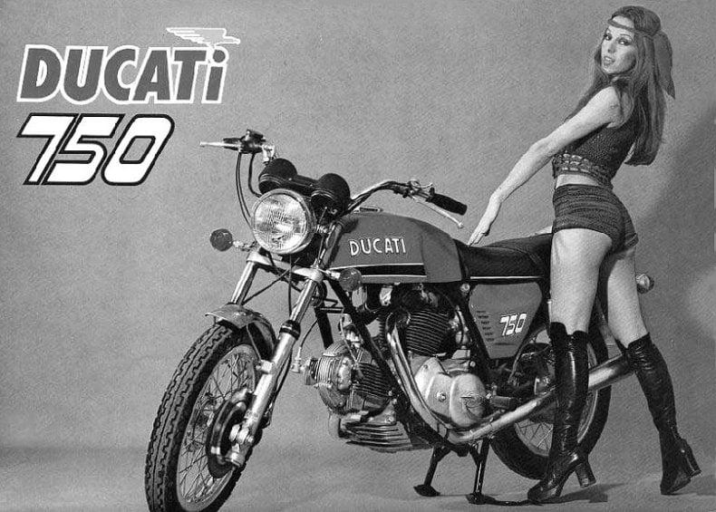 hotpants 1972 ducati 750 Ducati 750