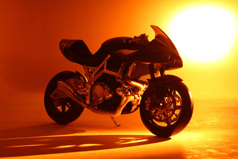 sunset big The Icon Sheene Motorcycle