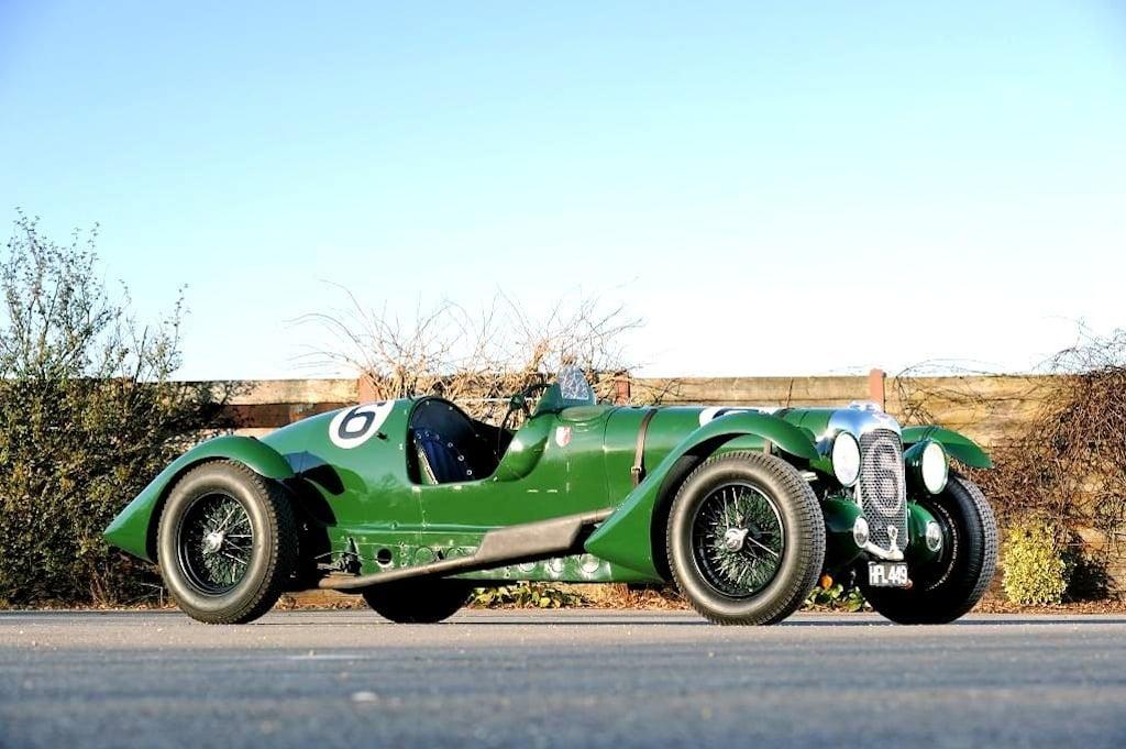 1939 Lagonda V12 ex-Lords Selsdon and Waleran Le Mans entry 1