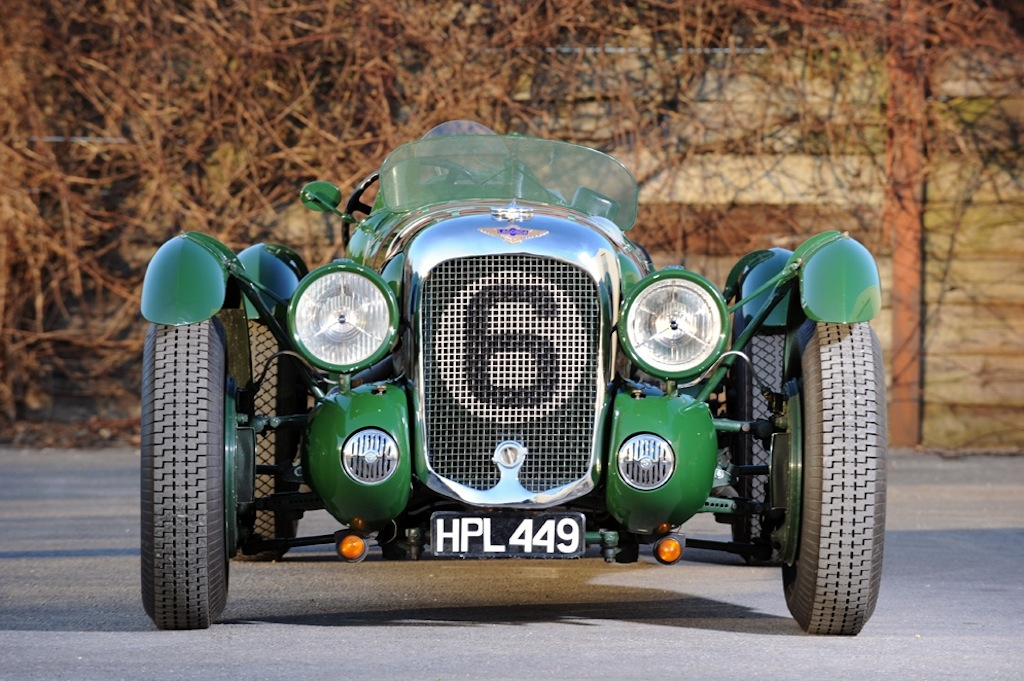 1939 Lagonda V12 ex-Lords Selsdon and Waleran Le Mans entry FRONT