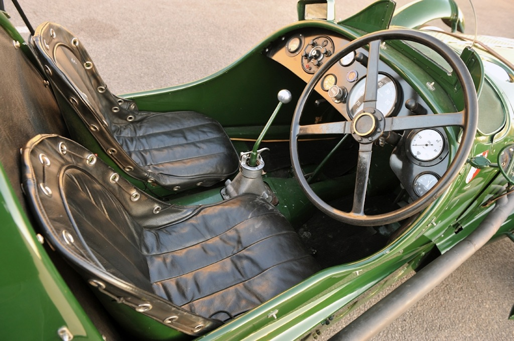 1939 Lagonda V12 ex-Lords Selson and Waleran Le Mans entry INTERIOR