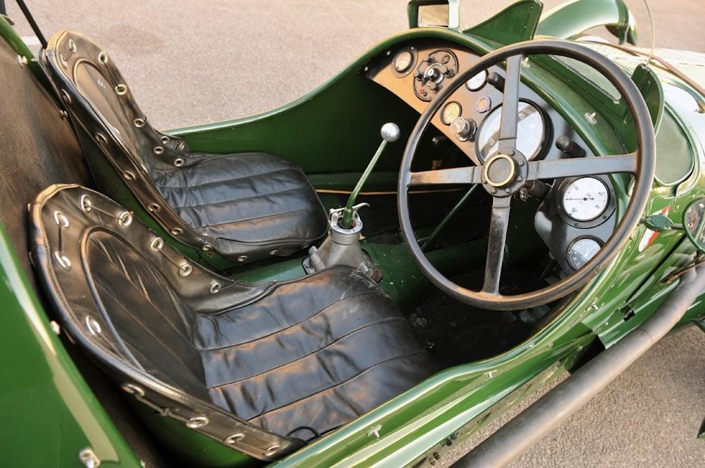 1939 Lagonda V12 ex-Lords Selson and Waleran Le Mans entry INTERIOR