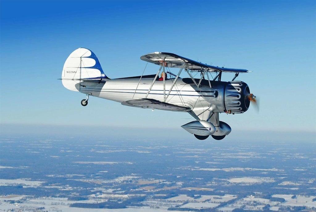The Waco Ymf 5d Biplane