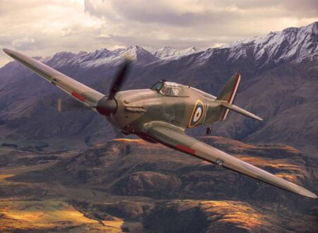 Hawker Hurricane IIA Fighter Plane 450x330 - Hawker Hurricane IIA Fighter Plane