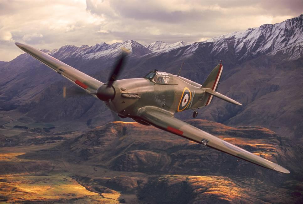 Machanics Near Me >> Hawker Hurricane IIA Fighter Plane - Silodrome