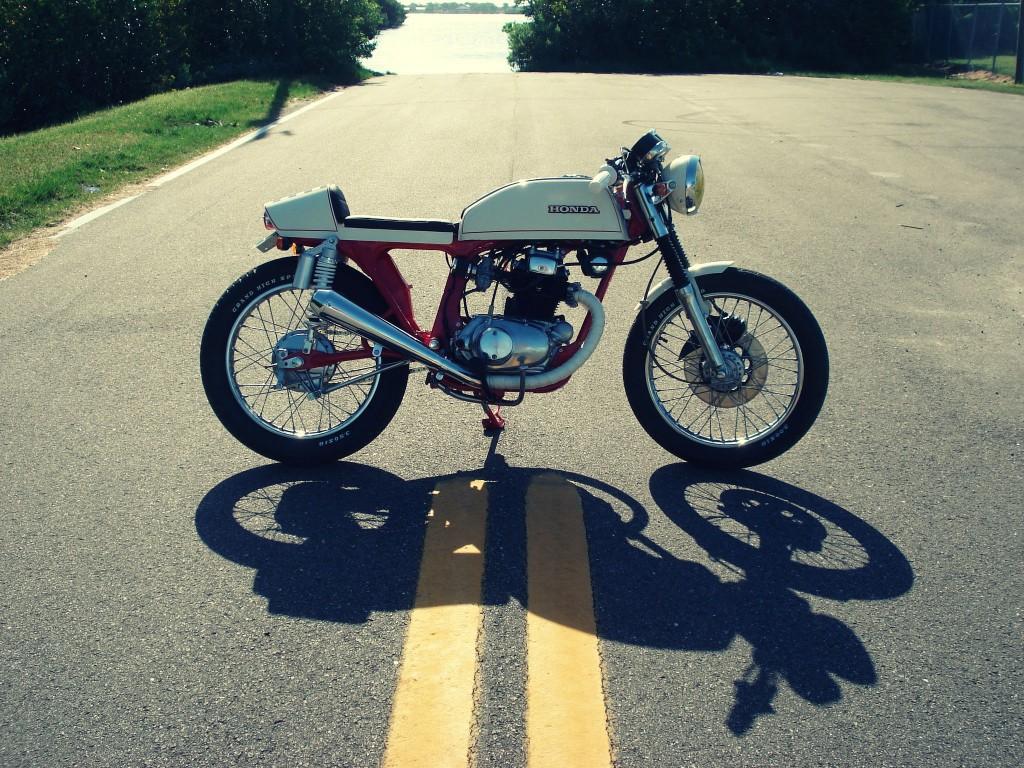 Honda CB200T Cafe Racer 1 1024x768 Honda CB200T Cafe Racer by Bare Bone Rides