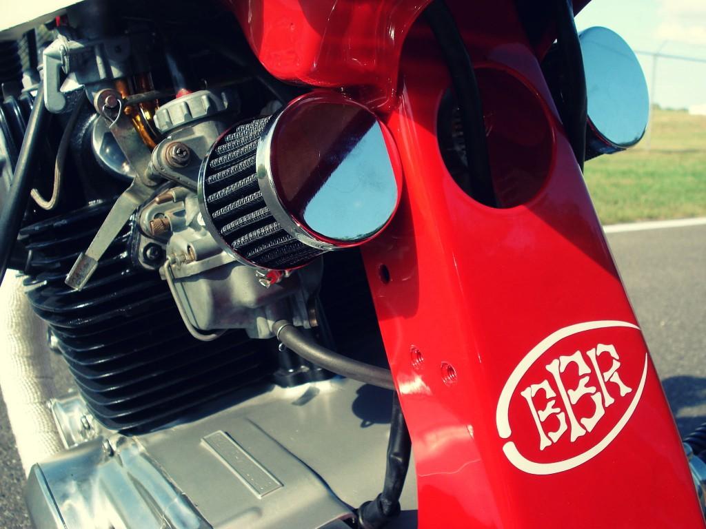 Honda CB200T Cafe Racer 10 1024x768 Honda CB200T Cafe Racer by Bare Bone Rides