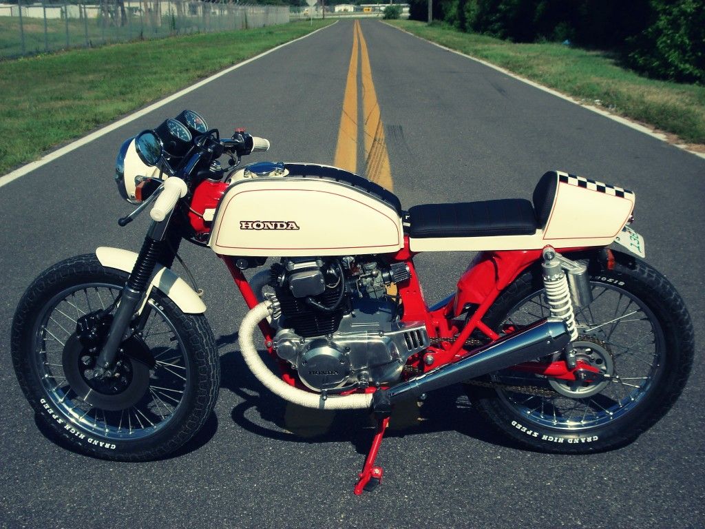 Honda CB200T Cafe Racer 4 1024x768 Honda CB200T Cafe Racer by Bare Bone Rides