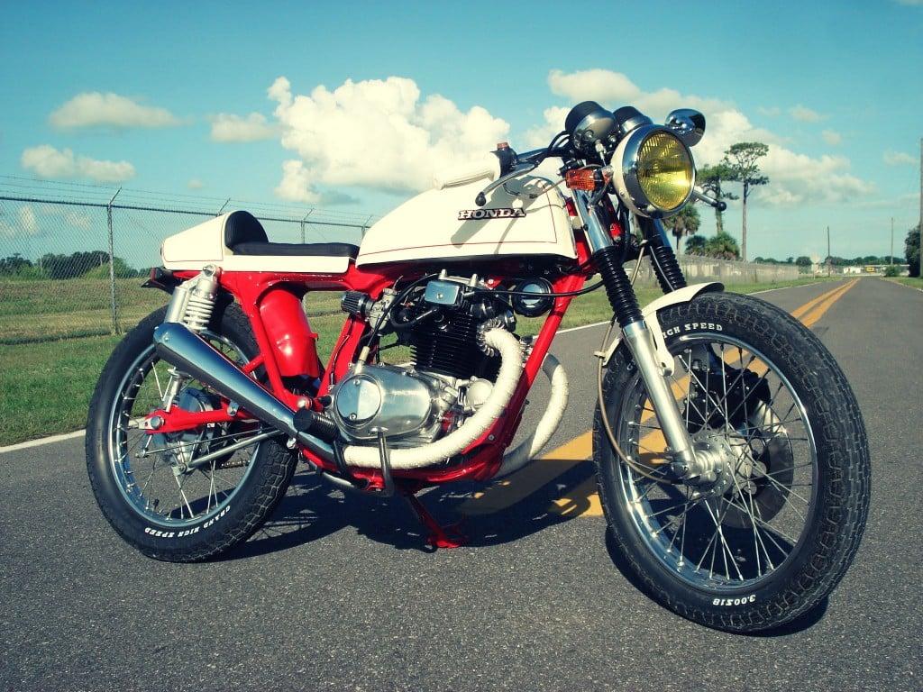 Honda CB200T Cafe Racer 5 1024x768 Honda CB200T Cafe Racer by Bare Bone Rides