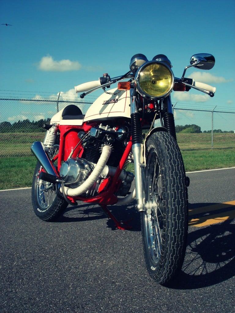 Honda CB200T Cafe Racer 6 768x1024 Honda CB200T Cafe Racer by Bare Bone Rides