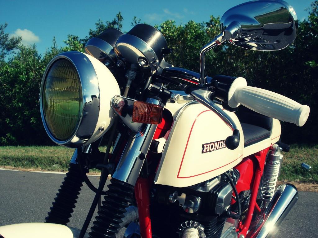 Honda CB200T Cafe Racer 8 1024x768 Honda CB200T Cafe Racer by Bare Bone Rides