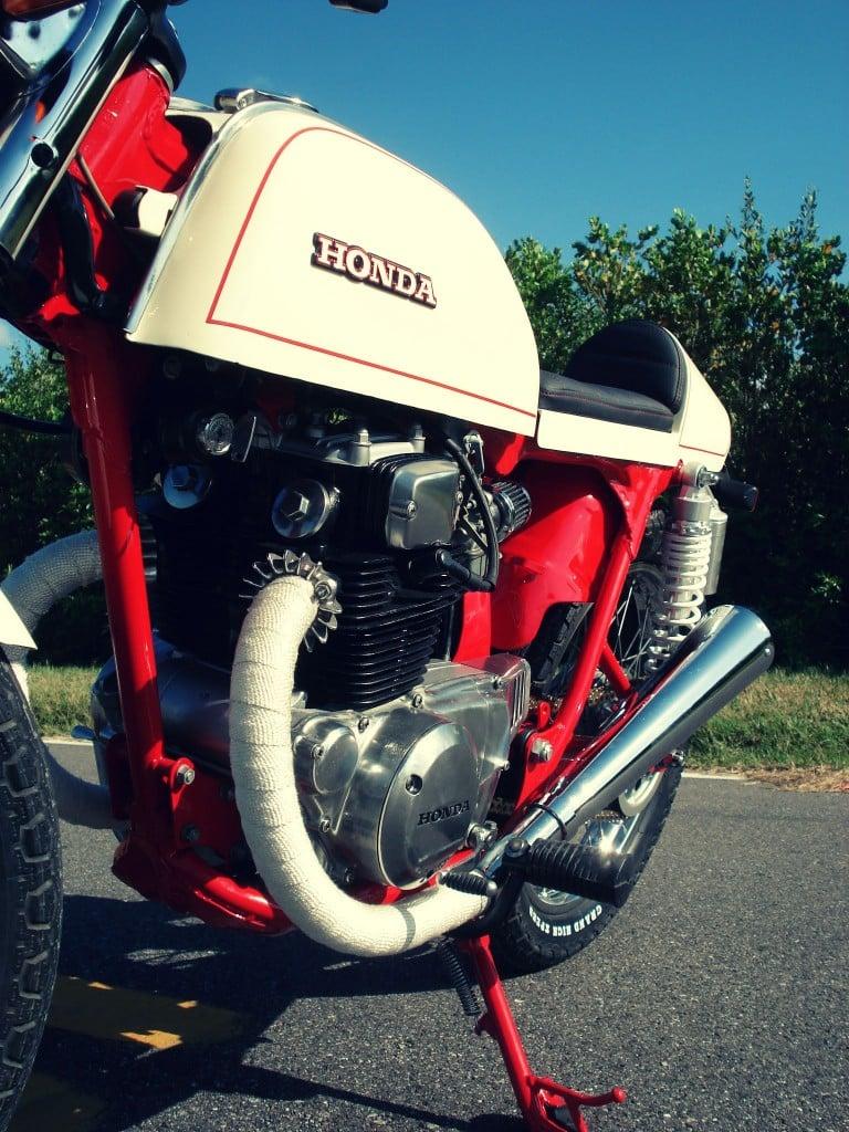 Honda CB200T Cafe Racer 9 768x1024 Honda CB200T Cafe Racer by Bare Bone Rides