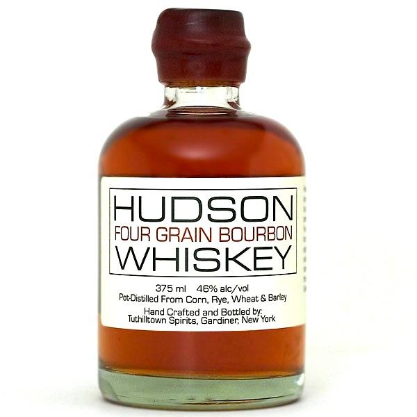Hudson 4 Grain Bourbon by Tuthilltown Spirits Hudson 4 Grain Bourbon by Tuthilltown Spirits