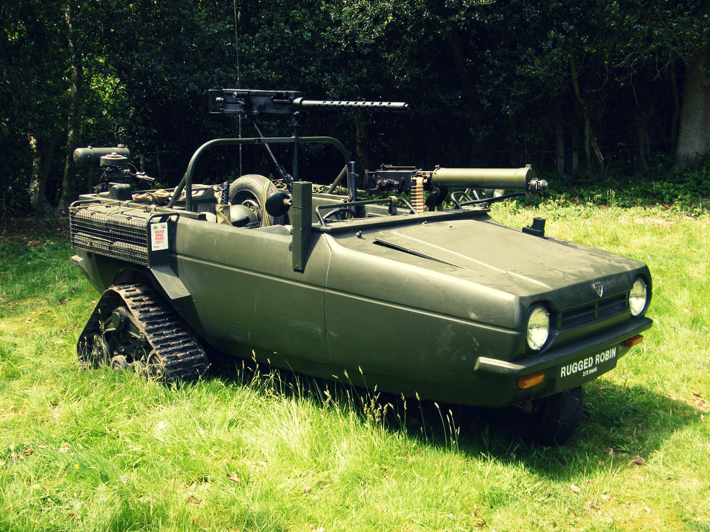 Reliant Rugged Robin
