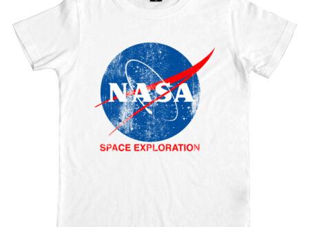 SS nasa white 450x330 - Official NASA Tee by Hank Player