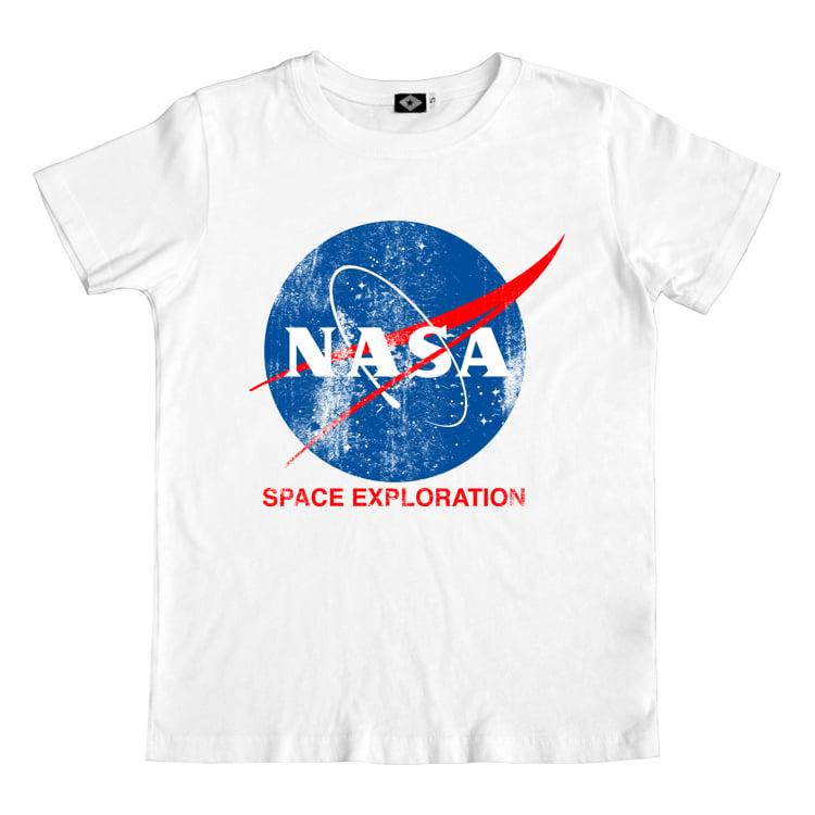 SS nasa white Official NASA Tee by Hank Player
