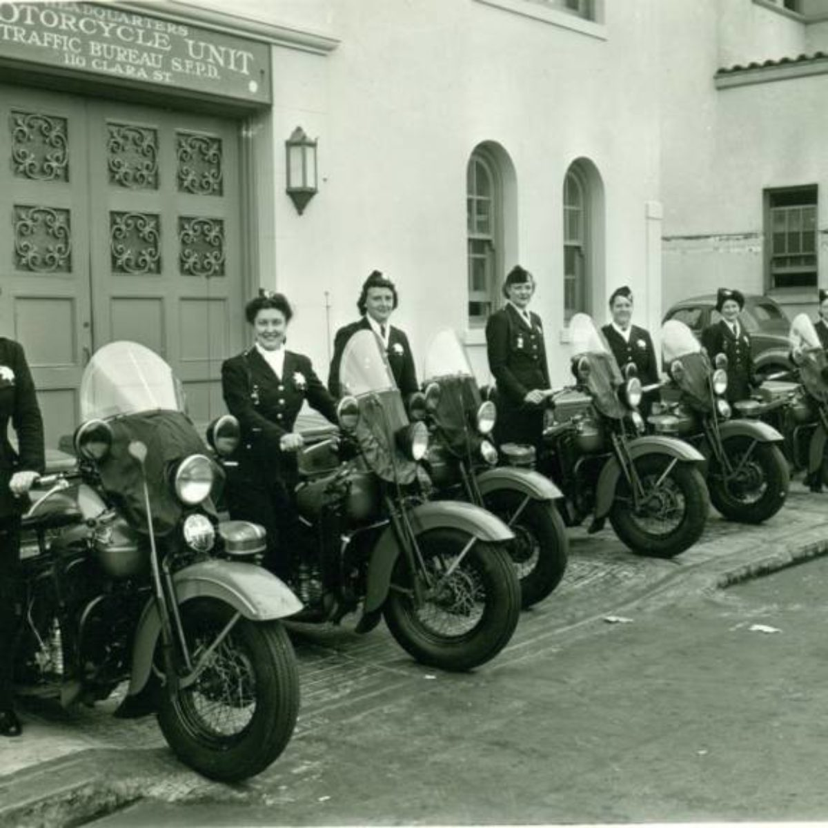 San Francisco Motorcycle >> San Francisco Women S Motorcycle Unit 1940 Silodrome