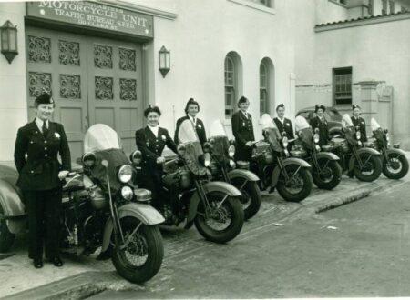 San Francisco Womens Motorcycle Unit 1940 450x330 - San Francisco Women's Motorcycle Unit - 1940