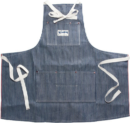 Stronghold Hickory Stripe Apron 1
