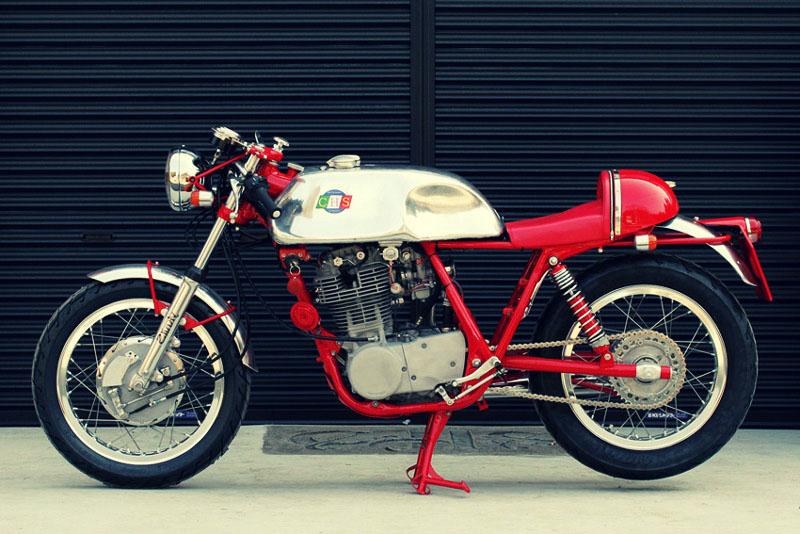 Yamaha SR500 by Custom House Stinky 1