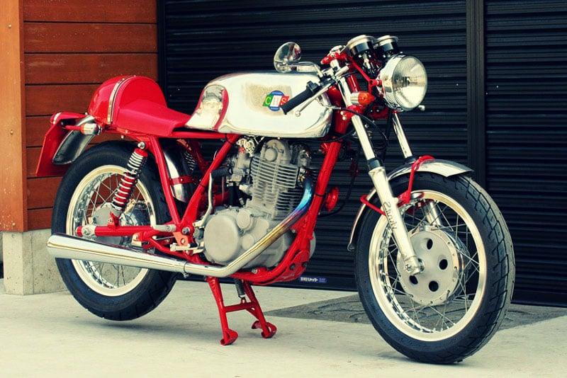 Yamaha SR500 by Custom House Stinky 3
