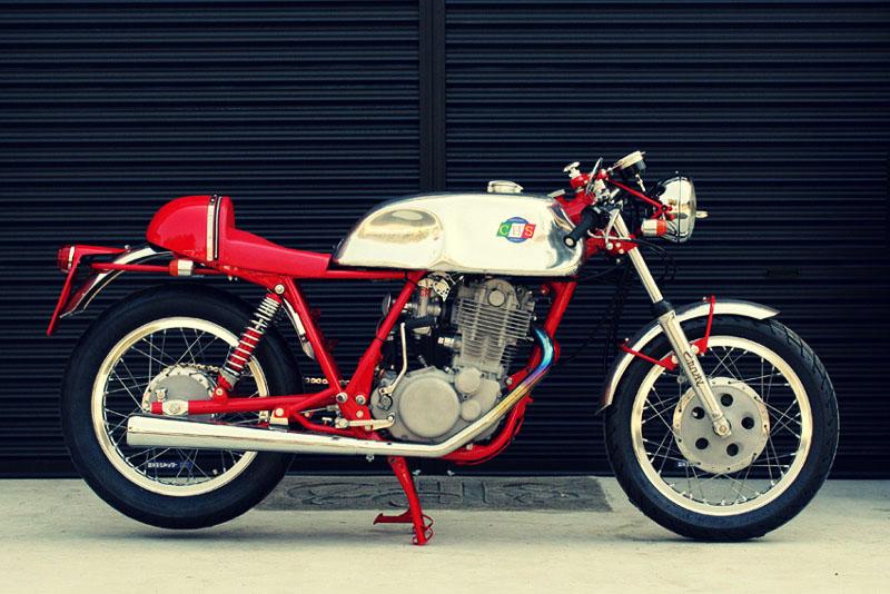 Yamaha SR500 by Custom House Stinky Yamaha SR500 by Custom House Stinky