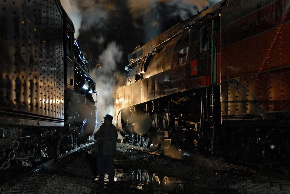 classic steam locomotives