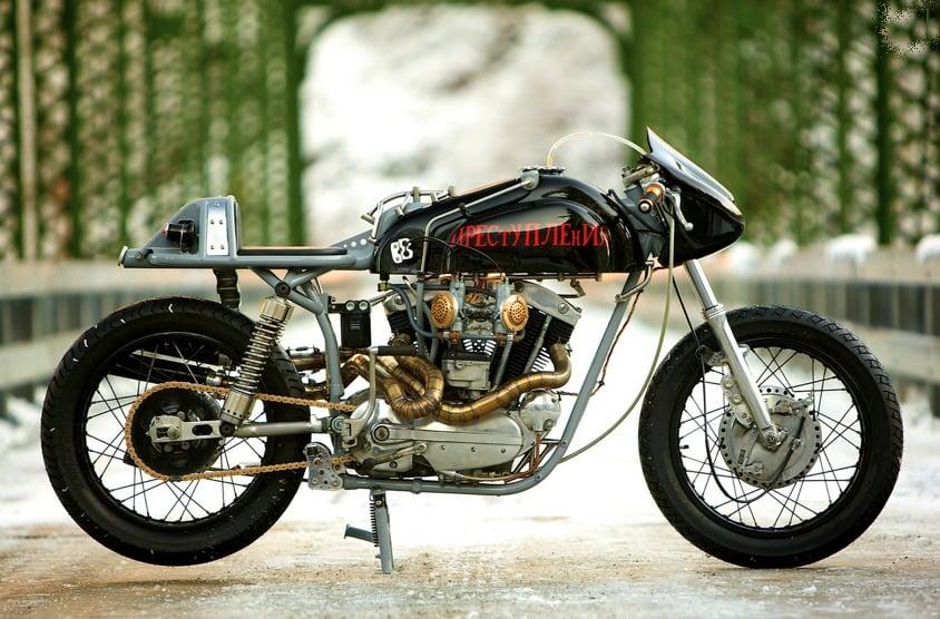 custom harley motorbike 3