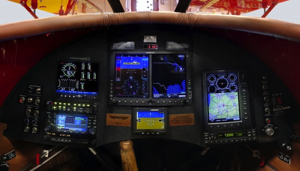 galleryblackpadded770by474-WACO-121-Instrument-Panel