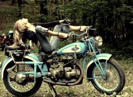 gilera motorcycle 450x330 - Gilera Girl