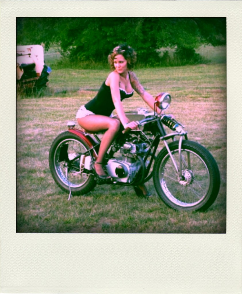 girl on motorcycle 842x1024 Lady Racer