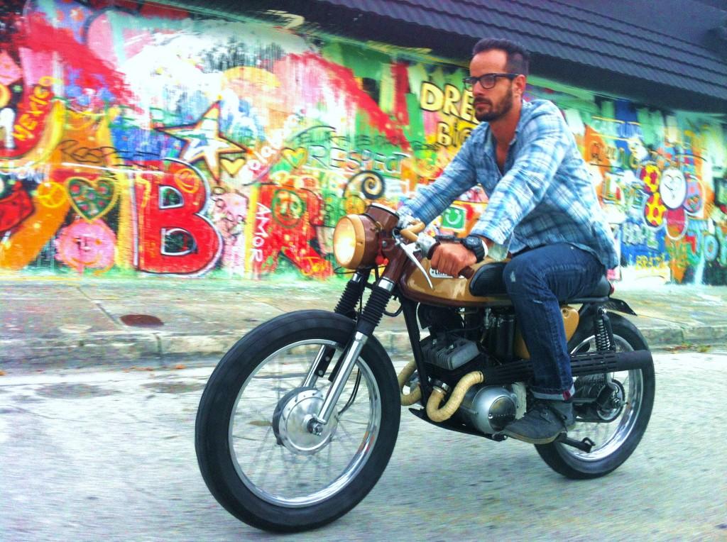 riding cortadito 1024x764 Cortadito Cafe Racer