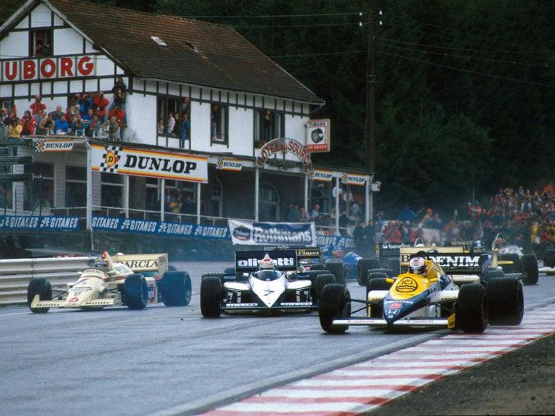 1985 Belgian Grand Prix 1985 Belgian Formula 1 Grand Prix