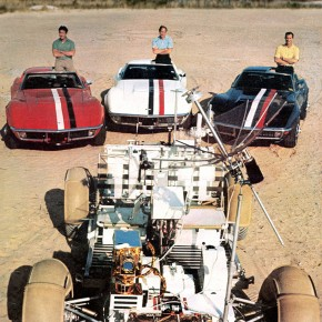 Apollo 15 Corvettes