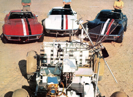 Apollo 15 Corvettes 450x330 - Apollo 15 Corvettes