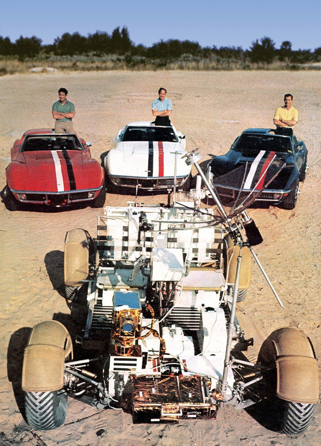 Apollo 15 Corvettes Silodrome