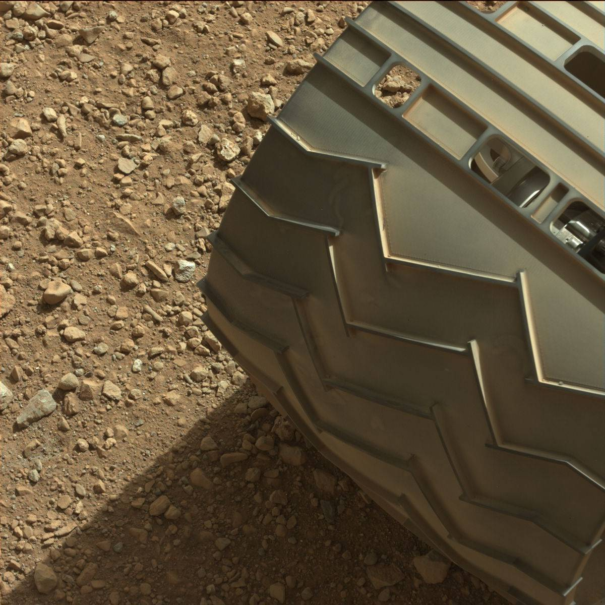 Curiosity Tread Pattern