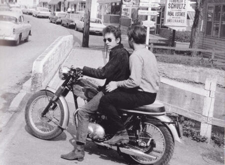 DlyanandSebastion 450x330 - Bob Dylan and the Triumph Tiger