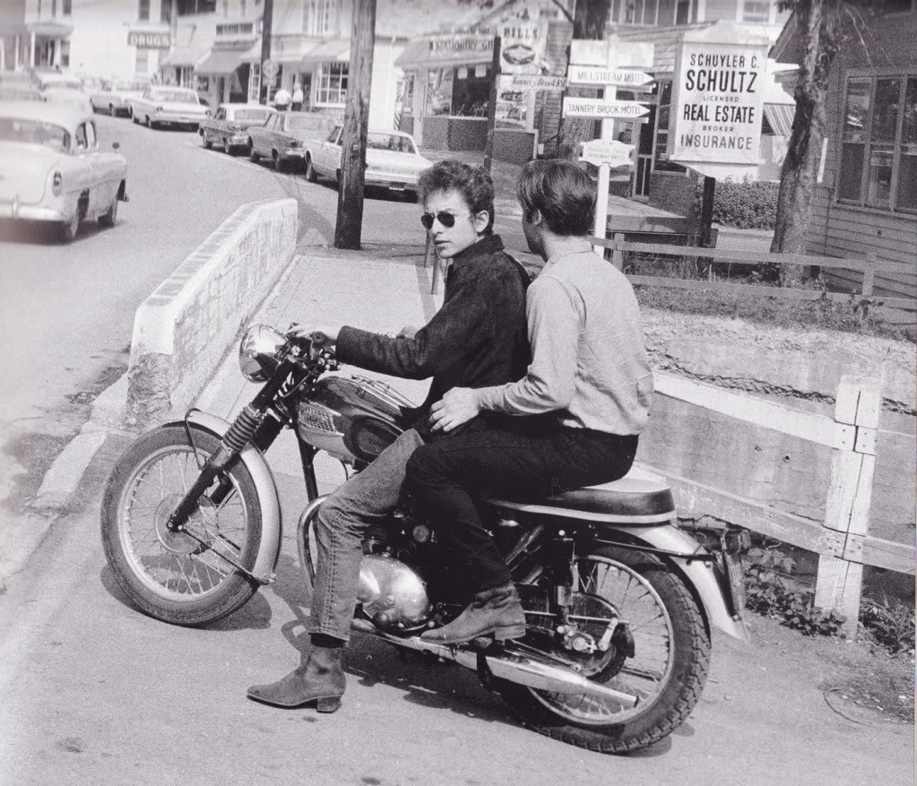 DlyanandSebastion Bob Dylan and the Triumph Tiger