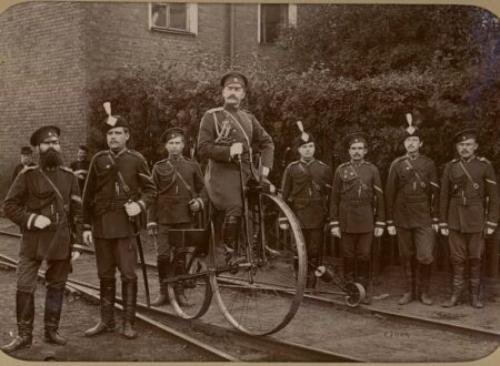Russian Gendarmes, Moscow, ca.1890